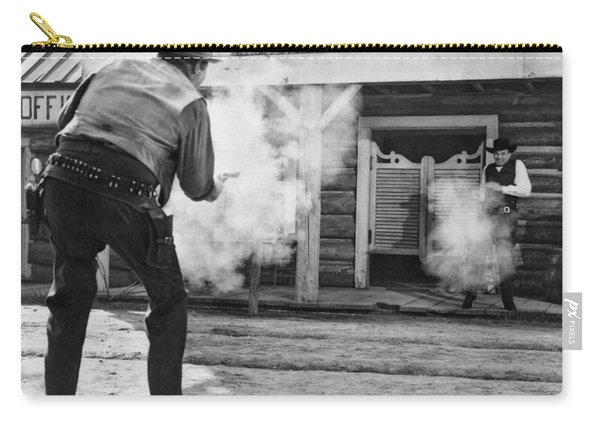 Western Film Shootout Carry-all Pouch