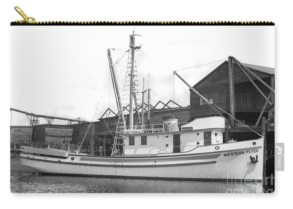 Western Flyer Purse Seiner Tacoma Washington State March 1937 Carry-all Pouch