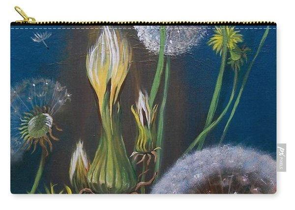 Western Goat's Beard Weed Carry-all Pouch