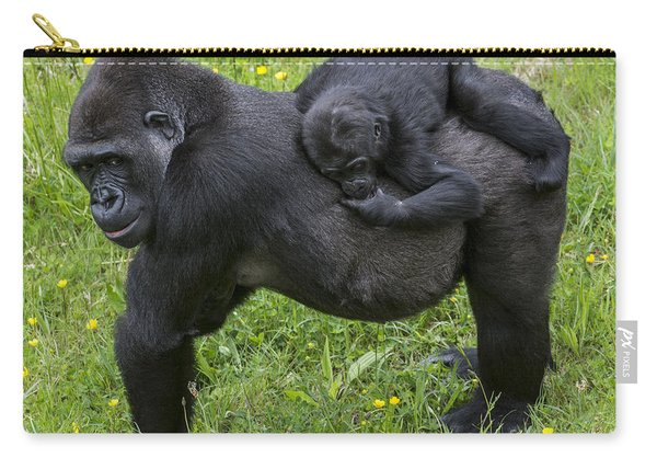 Western Lowland Gorilla 2 Carry-all Pouch