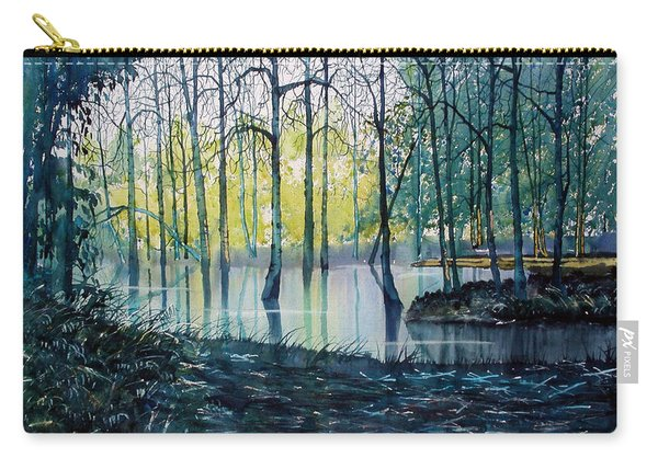 Wetlands On Skipwith Common Carry-all Pouch