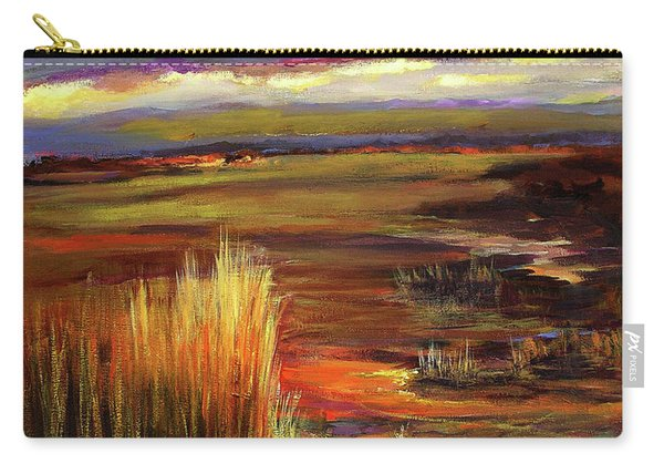 Wetlands Sunset Iv Carry-all Pouch