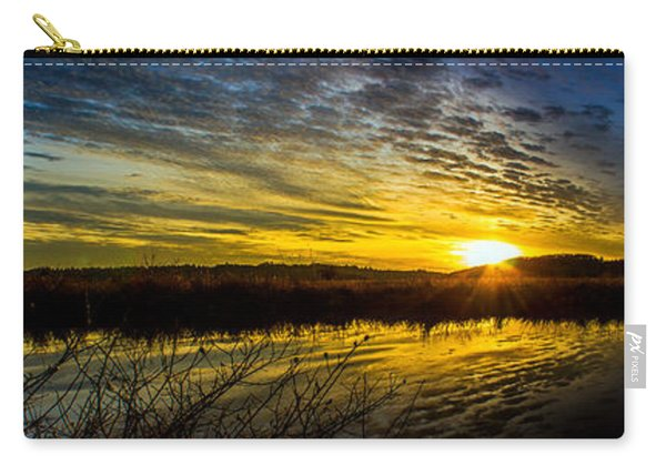 Wetlands Sunset Carry-all Pouch