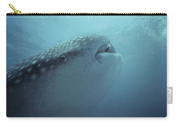 Whale Shark Face Carry-all Pouch