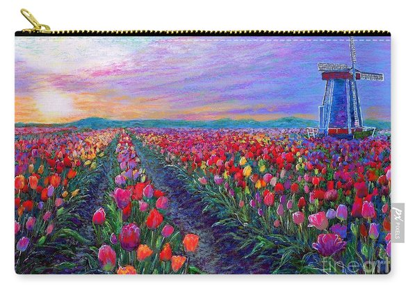 Tulip Fields, What Dreams May Come Carry-all Pouch