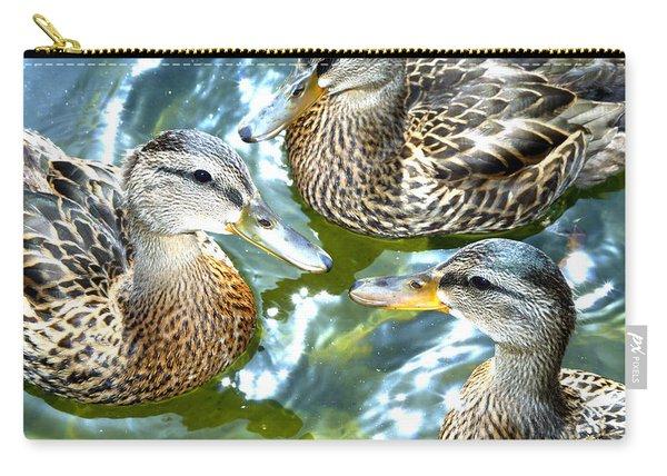 When Duck Bills Meet Carry-all Pouch