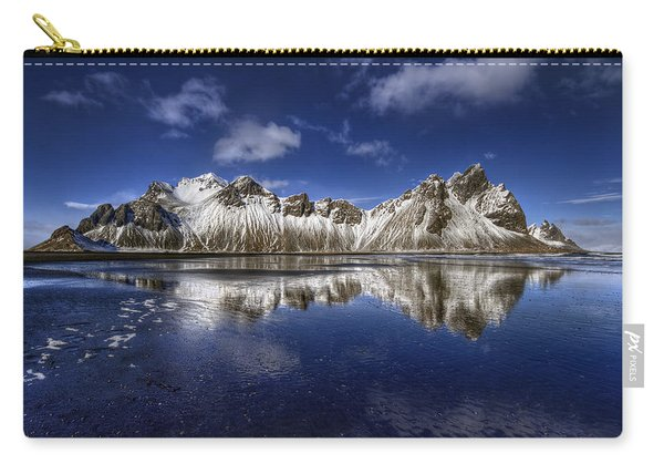 Where The Mountains Meet The Sky Carry-all Pouch