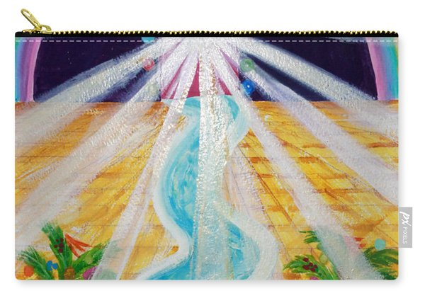 Where The Road Is Paved In Gold Carry-all Pouch