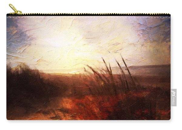 Whispering Shores By M.a Carry-all Pouch