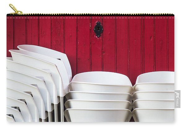 White Chairs Carry-all Pouch