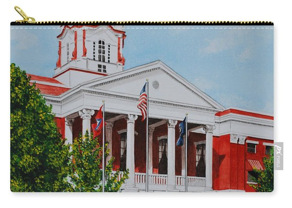 White County Courthouse - Veteran's Memorial Carry-all Pouch