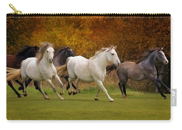 White Horse Vale Lipizzans Carry-all Pouch