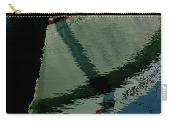 White Hull On The Water Carry-all Pouch
