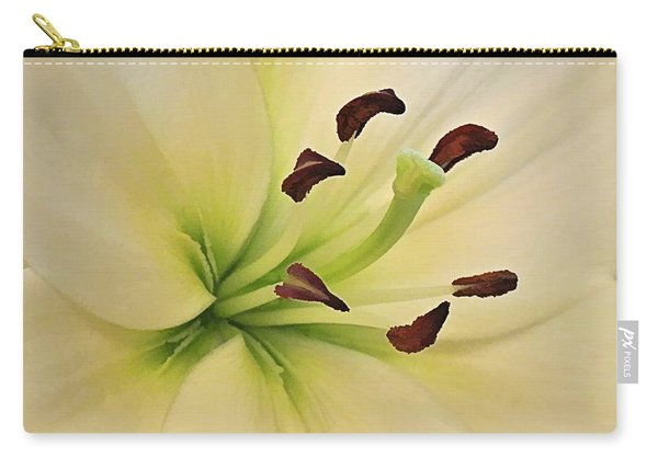 White Lily Pp-6 Carry-all Pouch