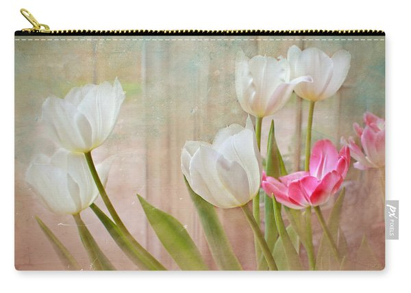 White Lily Show Carry-all Pouch