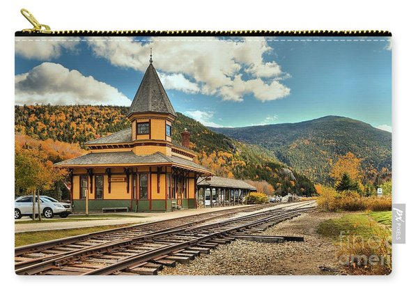 White Mountans Crawford Train Depot Carry-all Pouch