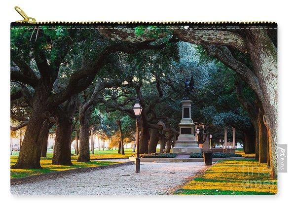 White Point Garden Walkway Charleston Sc Carry-all Pouch