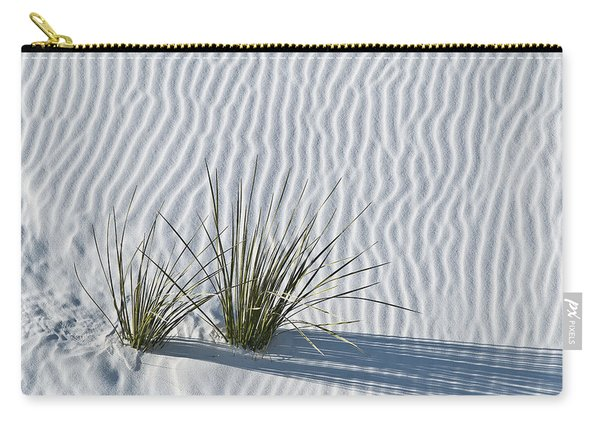 White Sands Grasses Carry-all Pouch