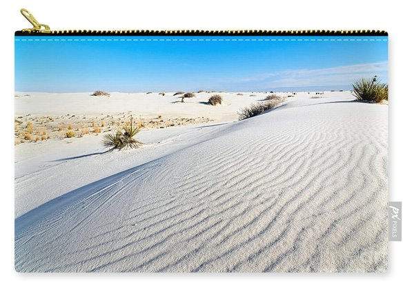White Sands - Morning View White Sands National Monument In New Mexico. Carry-all Pouch
