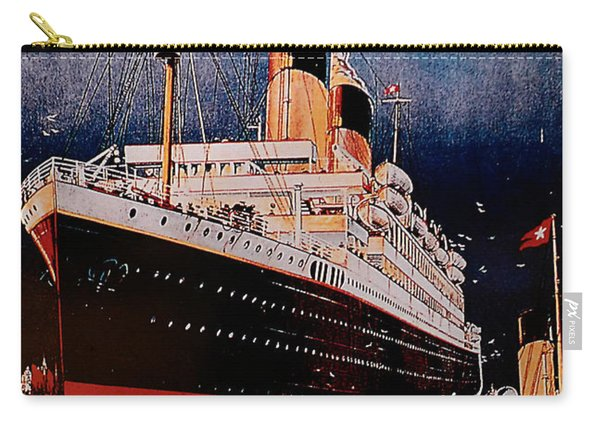 White Star Line Poster 1 Carry-all Pouch