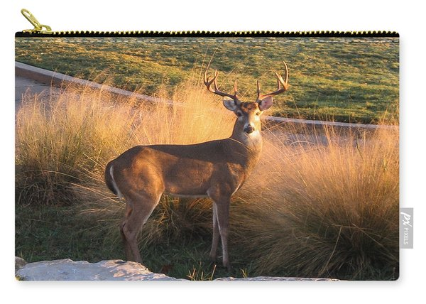 White Tail Carry-all Pouch