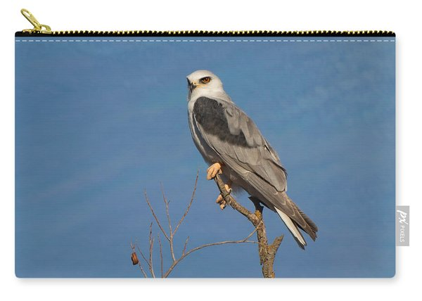 White Tailed Kite In A Tree Carry-all Pouch