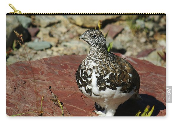 White-tailed Ptarmigan Carry-all Pouch