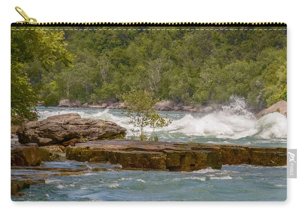 Carry-all Pouch featuring the photograph White Water by Garvin Hunter