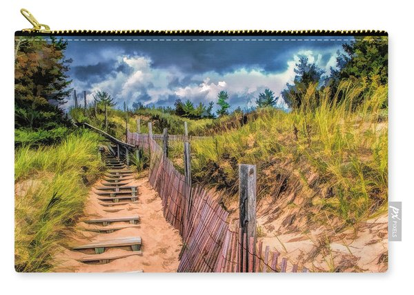 Whitefish Dunes State Park Stairs Carry-all Pouch