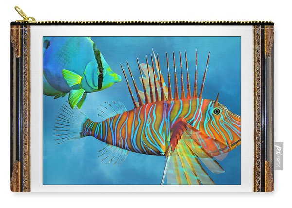 Who Framed The Fishes Carry-all Pouch