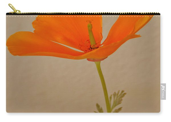 Wild California Poppy No 1 Carry-all Pouch