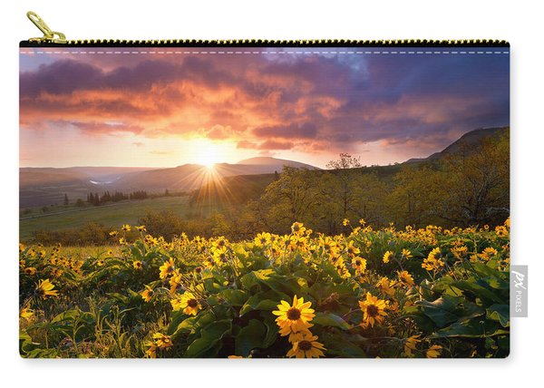 Wild Flower Delight Carry-all Pouch