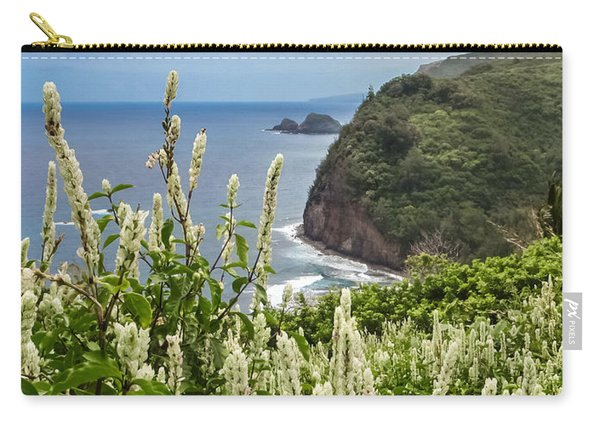 Wild Flowers At Pololu Carry-all Pouch