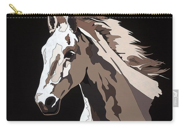 Wild Horse With Hidden Pictures Carry-all Pouch