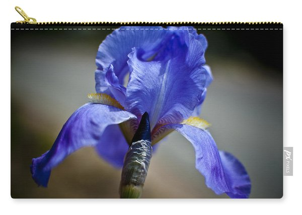 Wild Iris Carry-all Pouch