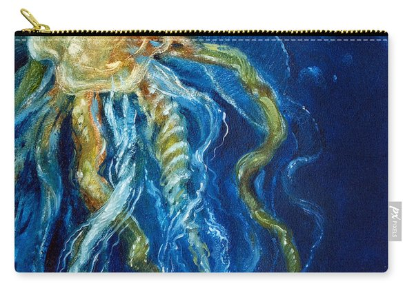 Wild Jellyfish Reflection Carry-all Pouch