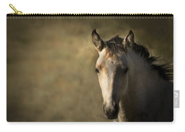 Wild Mustangs Of New Mexico 35 Carry-all Pouch