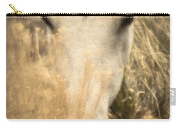 Wild Mustangs Of New Mexico 36 Carry-all Pouch