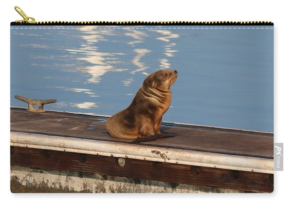 Wild Pup Sun Bathing Carry-all Pouch
