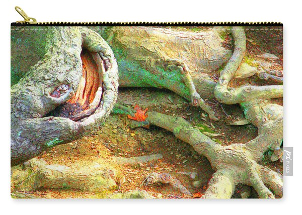 Wild Roots By Christopher Shellhammer Carry-all Pouch
