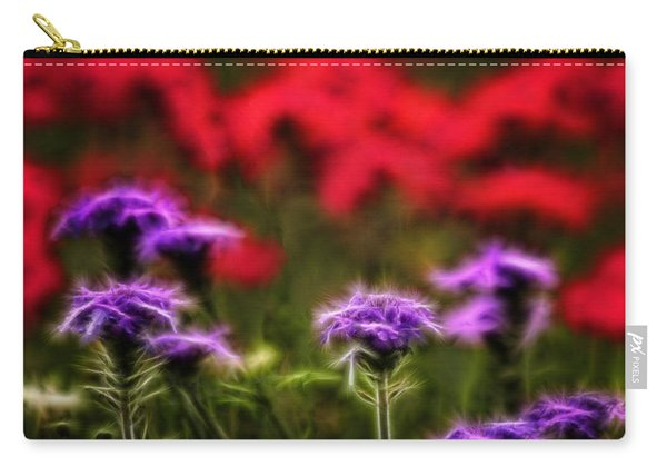 Wildflower Fantasy Carry-all Pouch