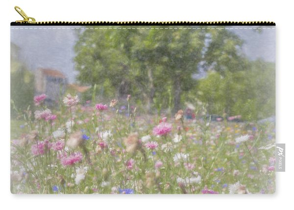 Wildflower Impressionism Carry-all Pouch