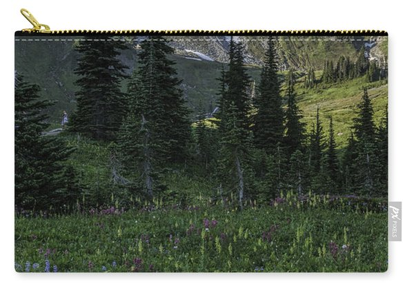 Wildflowers At Rainier Carry-all Pouch