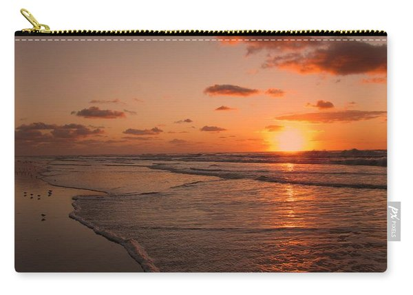 Wildwood Beach Sunrise II Carry-all Pouch
