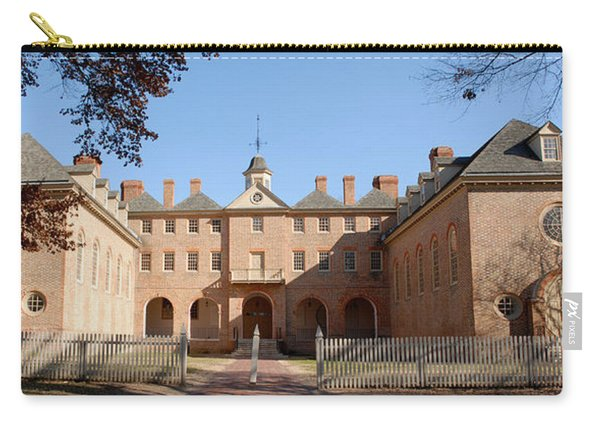 William And Mary Wren Building Carry-all Pouch