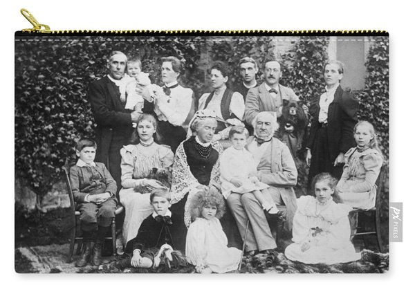 William Gladstone With Family Carry-all Pouch