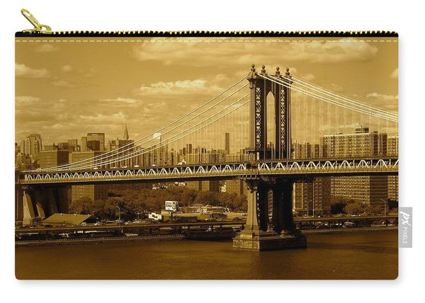 Williamsburg Bridge New York City Carry-all Pouch