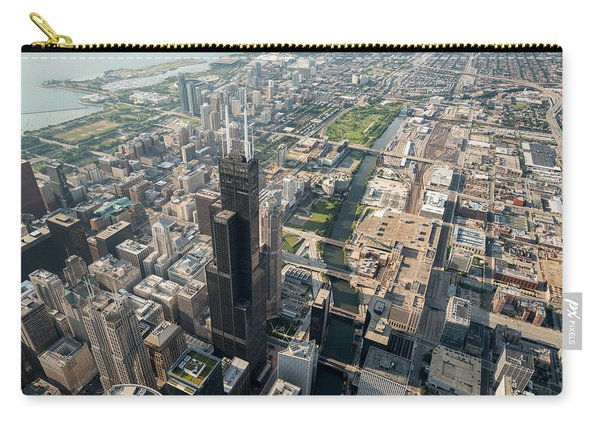 Willis Tower Southwest Chicago Aloft Carry-all Pouch