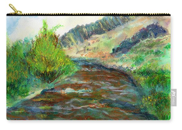 Willow Creek In Spring Carry-all Pouch