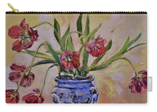 Wilting Tulips Carry-all Pouch
